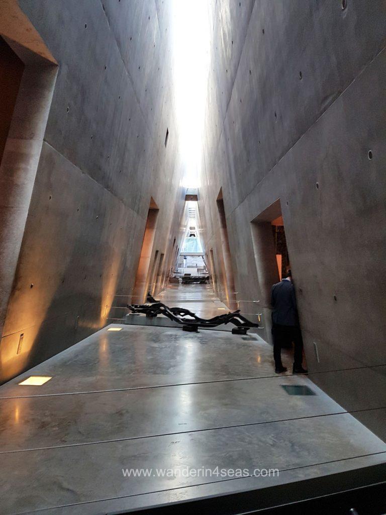 Yad Vashem museum interior