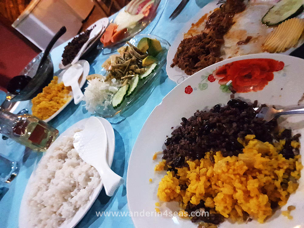 Buffet at El Campesino